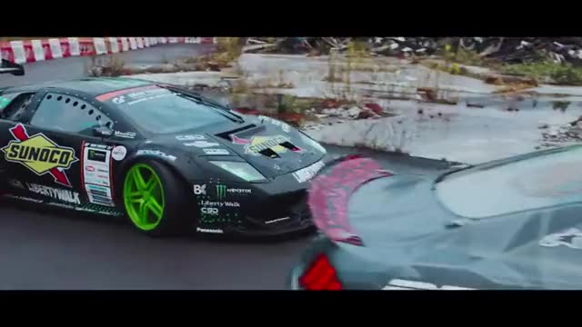 Watch #BATTLEDRIFT - Vaughn vs. Daigo GIF on Gfycat. Discover more Lamborghini (Automobile Company), Monster, Monster Energy GIFs on Gfycat