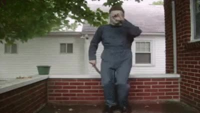 Watch dancing halloween mike myers GIF on Gfycat. Discover more related GIFs on Gfycat