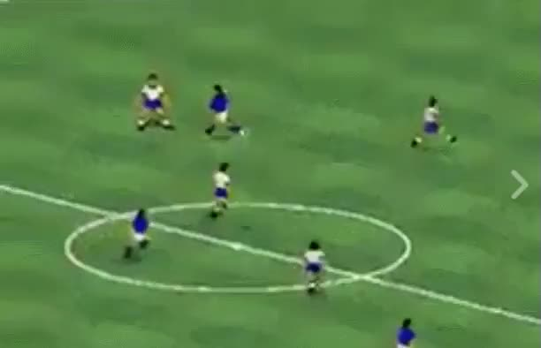 Watch and share In FIFA 94, You Could Run Away From The Referee When He Tried To Book You GIFs on Gfycat