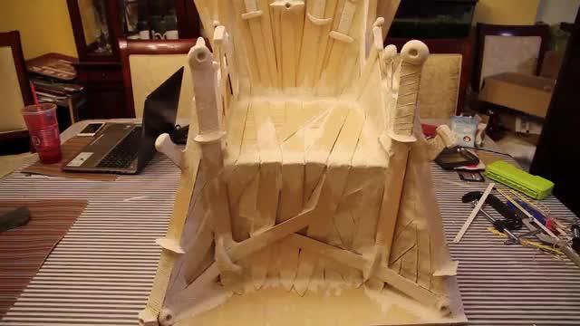Watch and share Iron Throne GIFs by ryuukihei on Gfycat