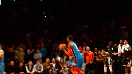 Watch and share Paul George — Oklahoma City Thunder GIFs by Off-Hand on Gfycat