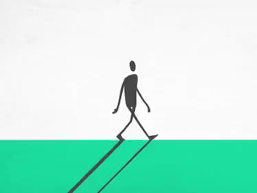 Watch and share Silhouette Man Walking GIFs on Gfycat