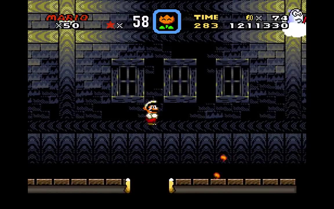 Super Mario World Choco Ghost House Gif Find Make Share