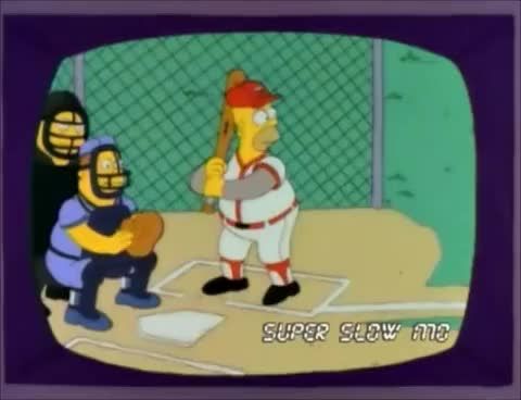 Watch and share Homer Simpson GIFs and Home Run GIFs on Gfycat