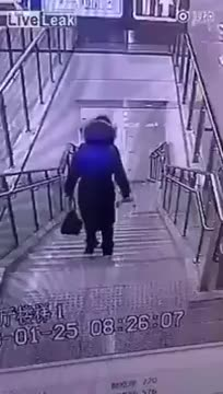 Watch and share Woman Falls Down Stairs Vine! GIFs by ccappucino on Gfycat