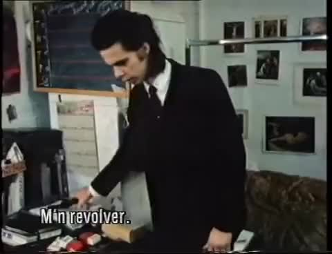 Watch Nick Cave: Stranger in a strange land VPRO documentary 1987 GIF on Gfycat. Discover more related GIFs on Gfycat