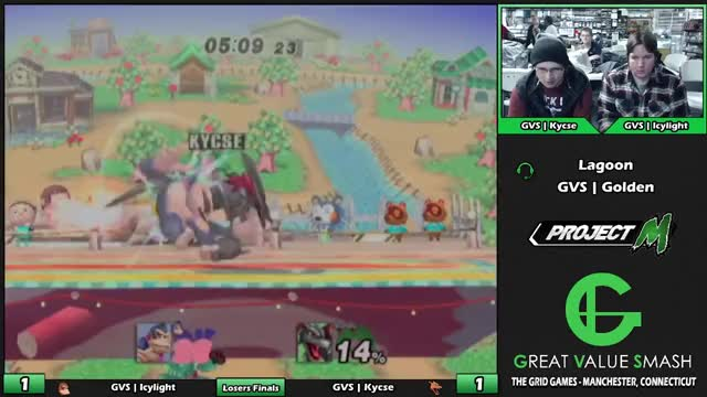 Watch GVS Icylight (Sheik/DK) VS GVS Kycse (Charizard) | Grid Weekly Losers Finals GIF by @thescarfydoctor on Gfycat. Discover more ssbpm, super smash bros. (video game series) GIFs on Gfycat