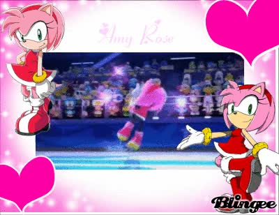Watch Amy Rose  GIF on Gfycat. Discover more related GIFs on Gfycat