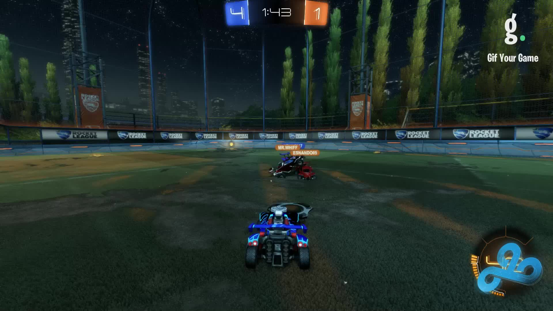 Gif Your Game, GifYourGame, Goal, GrizzlyAdams375, Rocket League, RocketLeague, Goal 6: Doughy GIFs