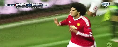 Watch and share Manchester United GIFs and Marouane Fellaini GIFs on Gfycat