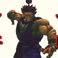 Watch and share Akuma-sfiv-The Wrath Of The Raging Demon GIFs on Gfycat