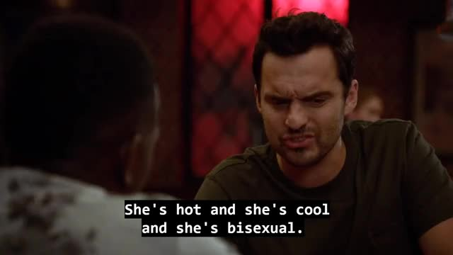 Watch Bisexual People GIF by Leslie Wenglein (@lesliewenglein) on Gfycat. Discover more bisexual, jake johnson, lamorne morris, new girl GIFs on Gfycat