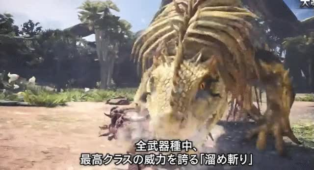 Watch monster hunter GIF on Gfycat. Discover more related GIFs on Gfycat