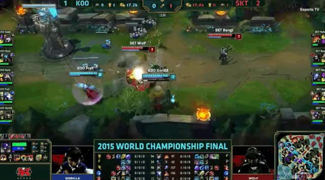Watch and share How Faker, SKT Won 'League Of Legends' World Championships 2015 GIFs on Gfycat