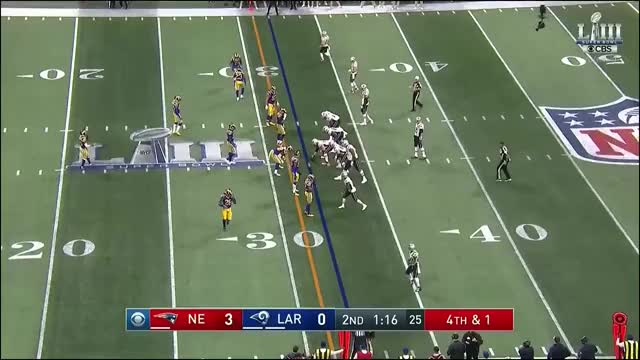 Watch  Rams get the stop on 4th - CBS GIF on Gfycat. Discover more Los Angeles Rams, New England Patriots, football GIFs on Gfycat