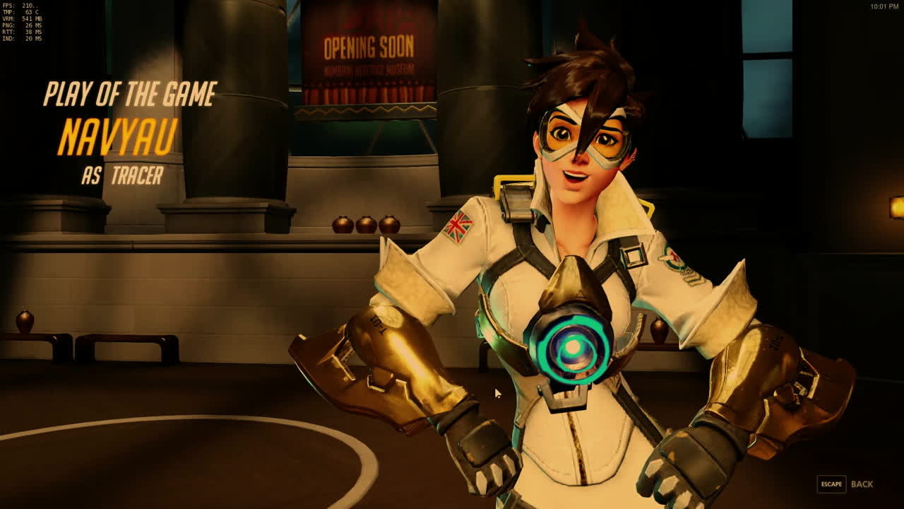 overwatch, tracer, My first amusing play GIFs