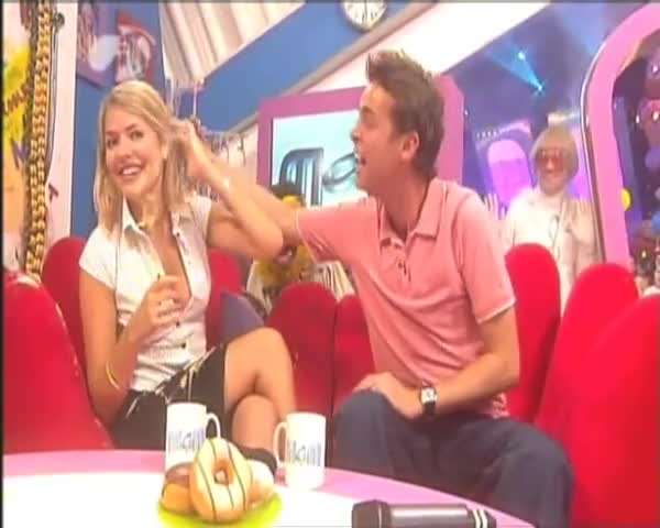 Watch Holly Willoughby - Yoghurt GIF on Gfycat. Discover more Entertainment, Holly Gunged, Holly Willoughby, Holly Willoughby Gunged, Holly Willoughby Yoghurt, Jay Crosby, MOM, Ministry Of Mayhem, Stephen Mulhern GIFs on Gfycat