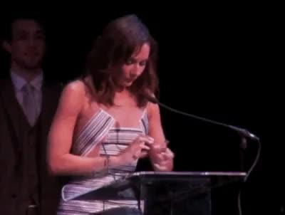 Watch and share Drama Desk Awards GIFs and Laura Benanti GIFs on Gfycat