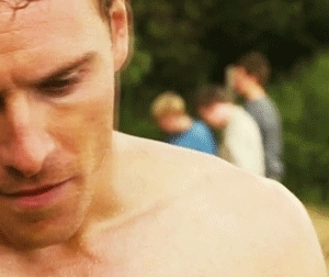 eden lake, eden lake film, fassbender gifs, fassy, hot, michael fassbender, text, Marvel Geek! GIFs
