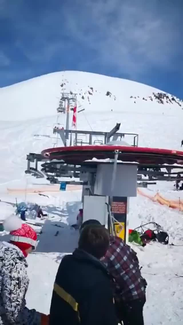 Watch and share Skilift Gone Crazy GIFs on Gfycat