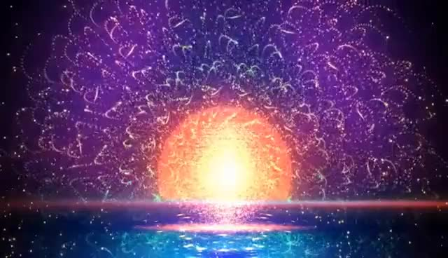 Watch and share 4K ★ Particle Sunset Waves ★ 2160p FREE Motion Background GIFs on Gfycat