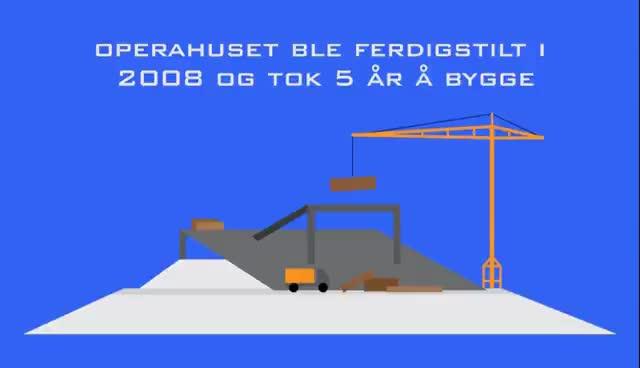 Watch and share Infoanimasjon - Operahuset I Oslo GIFs on Gfycat
