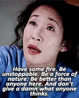 Watch and share Grey's Anatomy GIFs and Cristina Yang GIFs on Gfycat