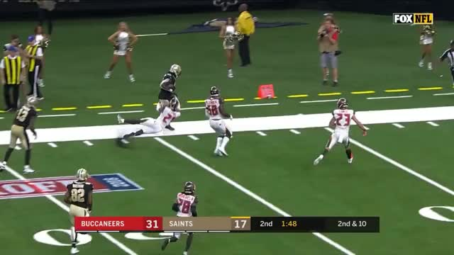 Watch this trending GIF by @redditornate on Gfycat. Discover more New Orleans Saints, Tampa Bay Buccaneers, football GIFs on Gfycat