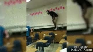 Watch Back to School Fails || FailArmy GIF on Gfycat. Discover more related GIFs on Gfycat