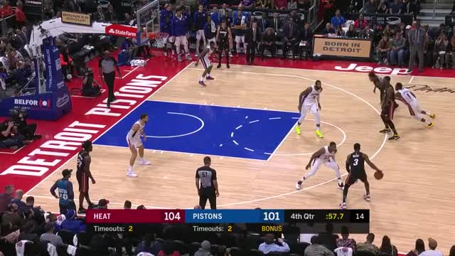 Watch Ad box GIF by Mike Snyder (@m_james_snyder) on Gfycat. Discover more Detroit Pistons, Miami Heat, basketball GIFs on Gfycat
