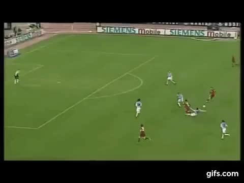 Watch and share Francesco Totti / Chips And Lobs , Pure MAGIC !!! GIFs on Gfycat