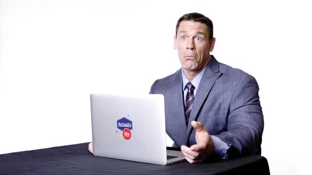 John Cena Goes Undercover on Twitter, YouTube, and Reddit | Actually