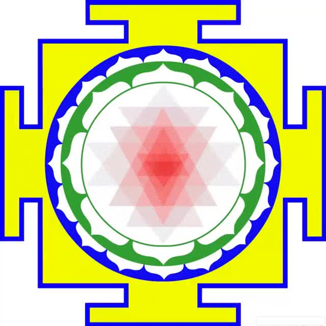 Watch and share Shri Yantra GIFs on Gfycat