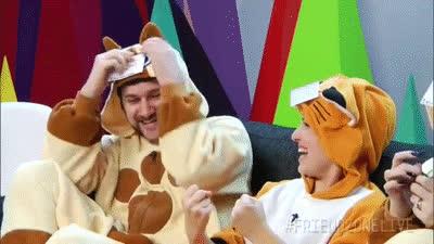 Egoraptor, Danny Sexbang and The Game Grumps - FriendZone - Polaris GIFs