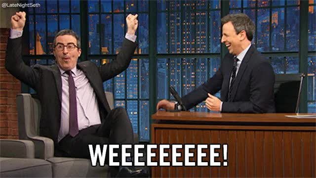 Watch Late Night with Seth Meyers GIF on Gfycat. Discover more john oliver GIFs on Gfycat