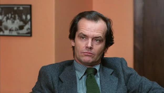 Jack Nicholson, speechless, Speechless GIFs
