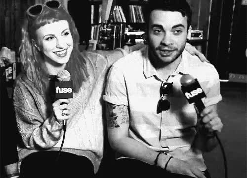 Watch and share Hayley Williams GIFs and Jeremy Davis GIFs on Gfycat