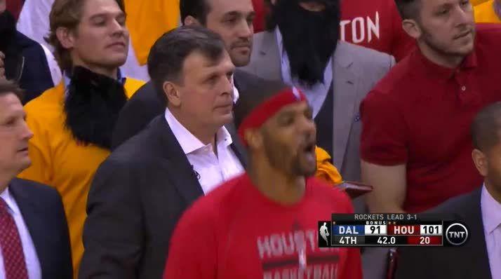 nba, nbaww, rockets, McHale and Smith share a moment GIFs