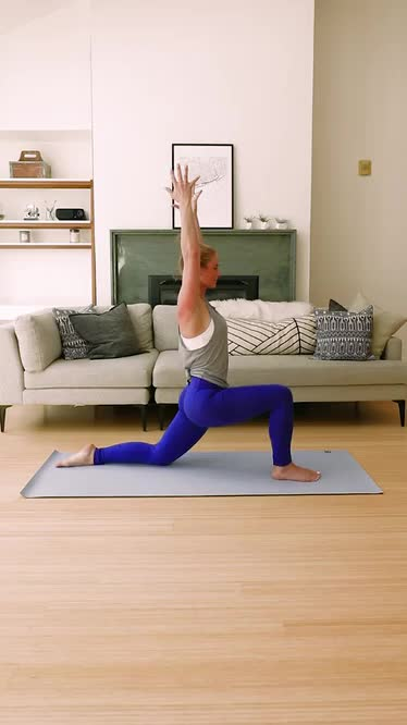 Watch and share Low Lunge GIFs and Fitness GIFs by Openfit on Gfycat