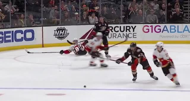 Watch and share Gaudreau Slashed And Crosschecked GIFs by Anthony Cook on Gfycat