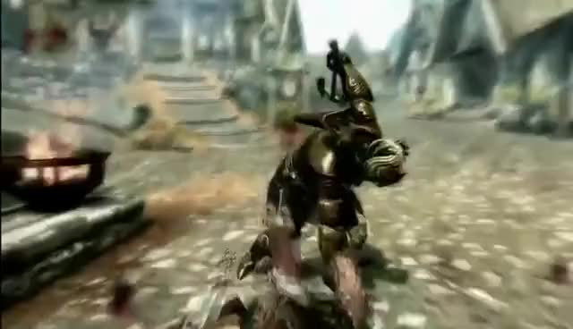 Watch Skyrim Execution GIF on Gfycat. Discover more Execution, Skyrim GIFs on Gfycat