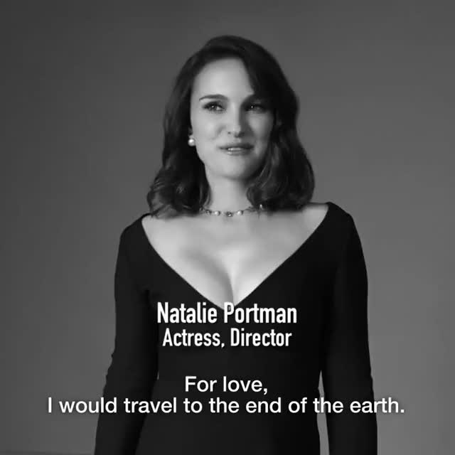 Watch and share DIOR LOVE CHAIN - Natalie Portman GIFs on Gfycat