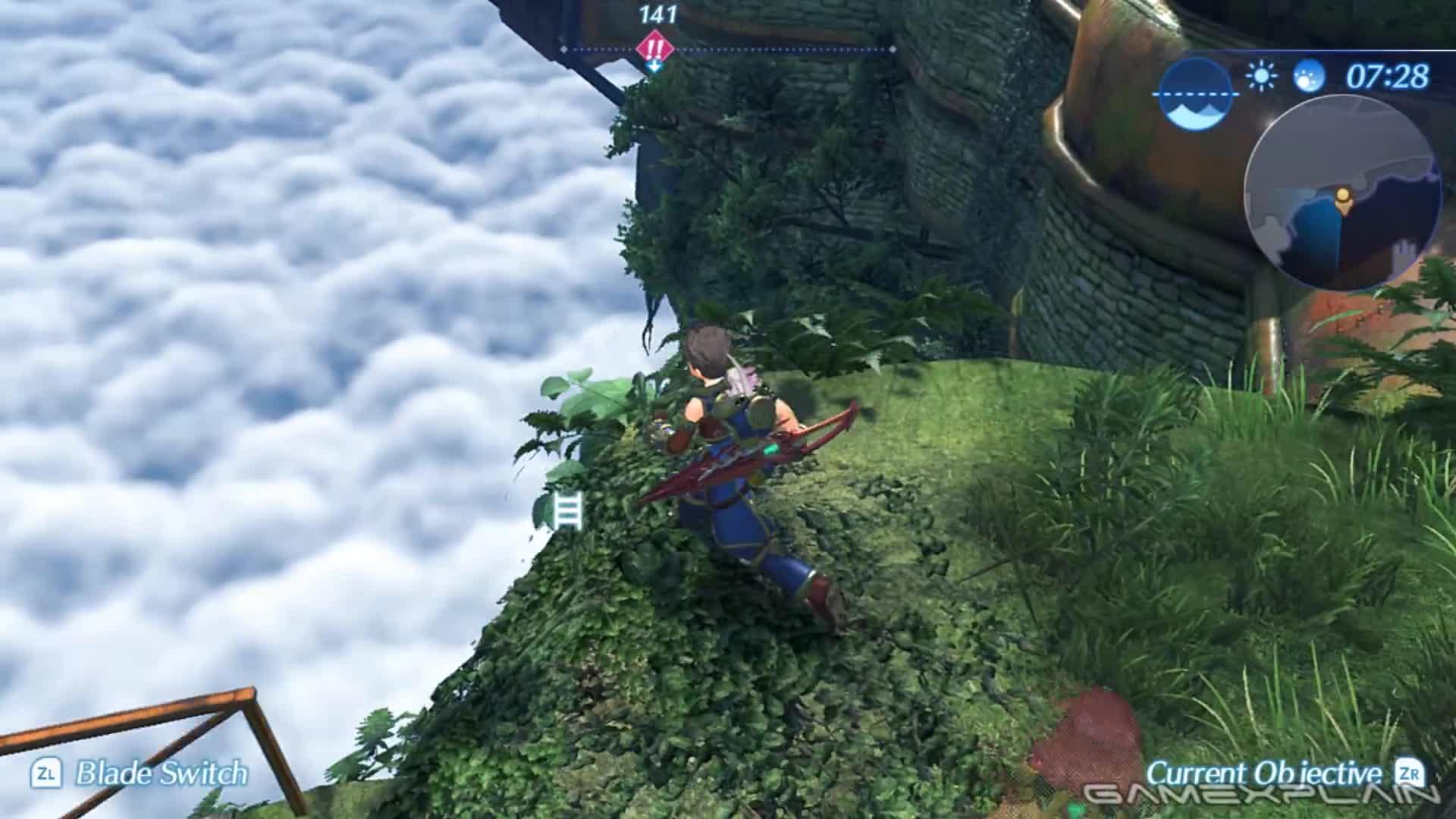 Explore, Let's Play, Nintendo, Pyra, Switch, Town, Treehouse, Xenoblade Chronicles, Xenoblade Chronicles 2, Xenoblade Chronicles X, We Play Xenoblade Chronicles 2 w/ Nintendo Treehouse (50 Minutes of Gameplay!) GIFs