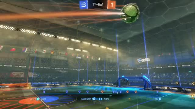 Watch and share Rocket League GIFs and Smackdown GIFs by Defense! on Gfycat