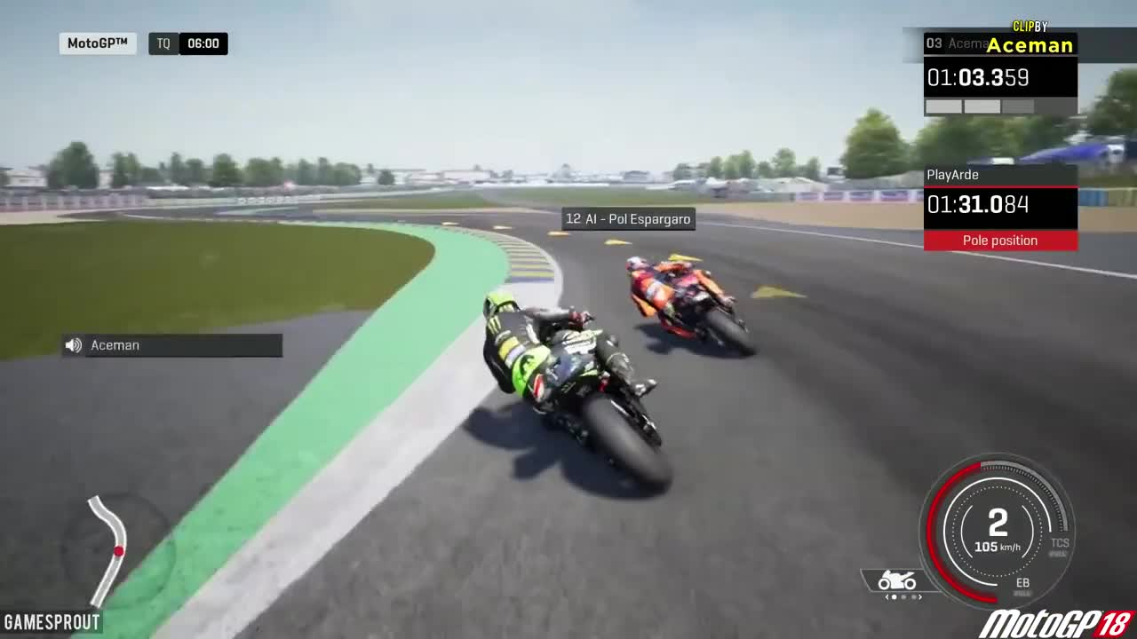 GTAV, Game, Montage, accidental, comedy, fail, games, gamesprout, gaming, lol, unlucky, MotoGP 18 fail GIFs
