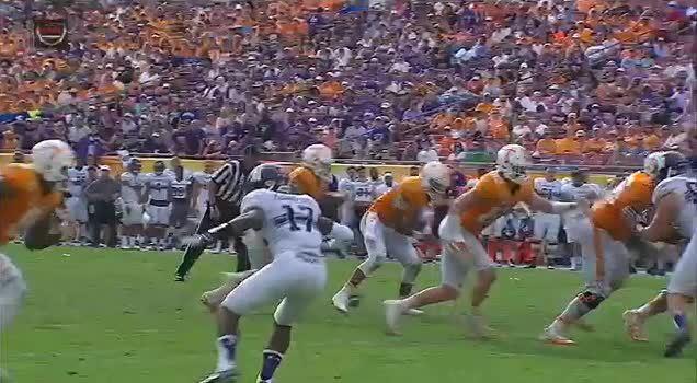 cfb, makemeagif, Dobbs touchdown GIFs