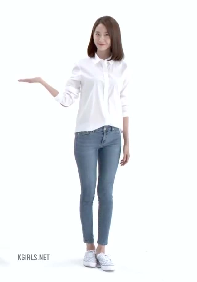 Watch and share YoonA-SNSD-Blue Jeans-5-www.kgirls.net GIFs by KGIRLS on Gfycat