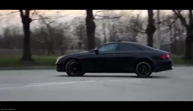Watch and share Mercedes Benz CLS55 AMG Drifting GIFs on Gfycat