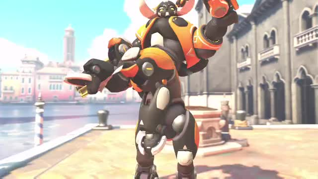 Watch and share Overwatch GIFs and Orisa GIFs by kingtorkoal on Gfycat