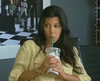 Watch this curated GIF by The GIF Smith (@sannahparker) on Gfycat. Discover more Kourtney Kardashian, bored, dgaf, sip, starbucks, tea, unimpressed GIFs on Gfycat
